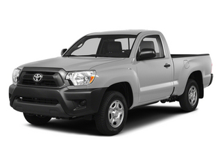 Silver Sky Metallic 2014 Toyota Tacoma Pictures Tacoma Base 4WD I4 photos front view