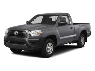 Magnetic Gray Metallic 2014 Toyota Tacoma Pictures Tacoma Base 4WD I4 photos front view