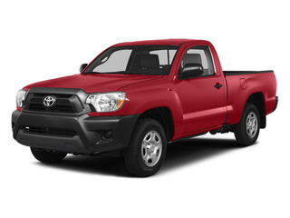 Barcelona Red Metallic 2014 Toyota Tacoma Pictures Tacoma Base 4WD I4 photos front view