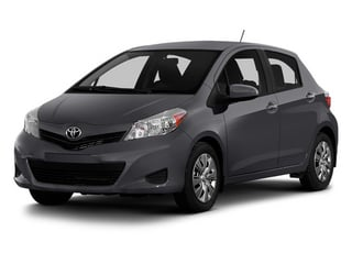 Magnetic Gray Metallic 2014 Toyota Yaris Pictures Yaris Hatchback 5D SE I4 photos front view