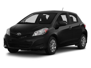 Black Sand Pearl 2014 Toyota Yaris Pictures Yaris Hatchback 5D SE I4 photos front view