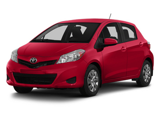 Absolutely Red 2014 Toyota Yaris Pictures Yaris Hatchback 5D SE I4 photos front view
