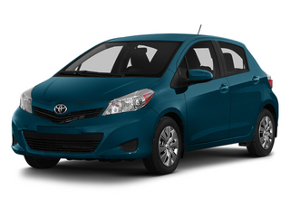 Lagoon Blue Mica 2014 Toyota Yaris Pictures Yaris Hatchback 5D SE I4 photos front view
