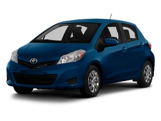 Blazing Blue Pearl 2014 Toyota Yaris Pictures Yaris Hatchback 5D SE I4 photos front view