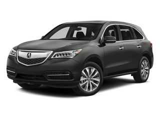 Forest Mist Metallic 2015 Acura MDX Pictures MDX Utility 4D Technology DVD AWD V6 photos front view