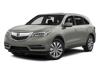 Silver Moon 2015 Acura MDX Pictures MDX Utility 4D Technology DVD AWD V6 photos front view