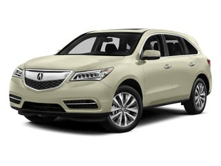 White Diamond Pearl 2015 Acura MDX Pictures MDX Utility 4D Technology DVD AWD V6 photos front view