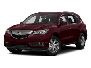 Dark Cherry Pearl 2015 Acura MDX Pictures MDX Utility 4D Advance DVD AWD V6 photos front view