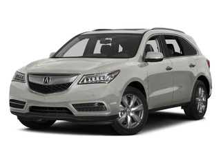 Silver Moon 2015 Acura MDX Pictures MDX Utility 4D Advance DVD AWD V6 photos front view
