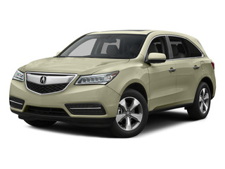 White Diamond Pearl 2015 Acura MDX Pictures MDX Utility 4D 2WD V6 photos front view