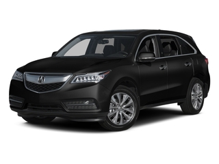 Crystal Black Pearl 2015 Acura MDX Pictures MDX Utility 4D Technology DVD 2WD V6 photos front view
