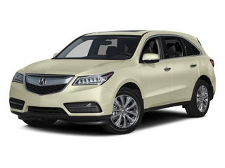 White Diamond Pearl 2015 Acura MDX Pictures MDX Utility 4D Technology DVD 2WD V6 photos front view