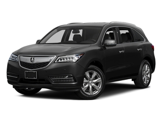 Crystal Black Pearl 2015 Acura MDX Pictures MDX Utility 4D Advance DVD 2WD V6 photos front view