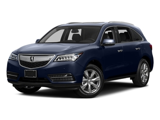 Fathom Blue Pearl 2015 Acura MDX Pictures MDX Utility 4D Advance DVD 2WD V6 photos front view