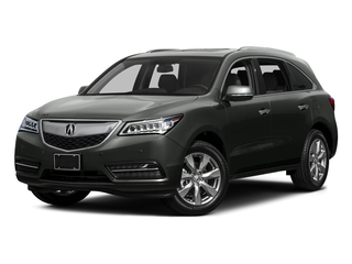 Forest Mist Metallic 2015 Acura MDX Pictures MDX Utility 4D Advance DVD 2WD V6 photos front view