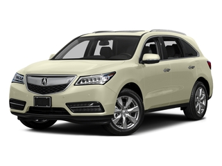 White Diamond Pearl 2015 Acura MDX Pictures MDX Utility 4D Advance DVD 2WD V6 photos front view