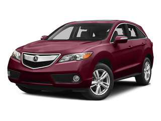 Basque Red Pearl II 2015 Acura RDX Pictures RDX Utility 4D Technology AWD V6 photos front view