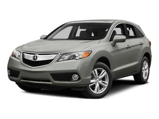 Forged Silver Metallic 2015 Acura RDX Pictures RDX Utility 4D Technology AWD V6 photos front view