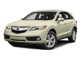 White Diamond Pearl 2015 Acura RDX Pictures RDX Utility 4D Technology AWD V6 photos front view