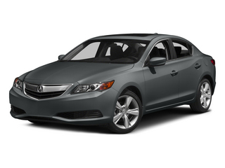 Modern Steel Metallic 2015 Acura ILX Pictures ILX Sedan 4D I4 photos front view