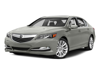 Silver Moon Metallic 2015 Acura RLX Pictures RLX Sedan 4D Navigation V6 photos front view