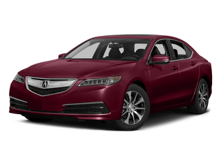 Basque Red Pearl II 2015 Acura TLX Pictures TLX Sedan 4D I4 photos front view