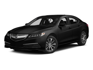 Crystal Black Pearl 2015 Acura TLX Pictures TLX Sedan 4D Technology I4 photos front view