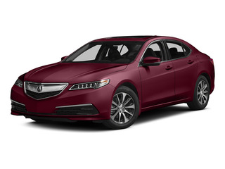 Basque Red Pearl II 2015 Acura TLX Pictures TLX Sedan 4D Technology I4 photos front view