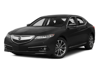 Crystal Black Pearl 2015 Acura TLX Pictures TLX Sedan 4D Advance V6 photos front view