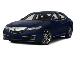 Fathom Blue Pearl 2015 Acura TLX Pictures TLX Sedan 4D Advance V6 photos front view