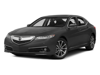 Graphite Luster Metallic 2015 Acura TLX Pictures TLX Sedan 4D Advance V6 photos front view
