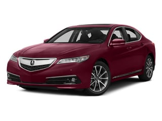 Basque Red Pearl II 2015 Acura TLX Pictures TLX Sedan 4D Advance V6 photos front view