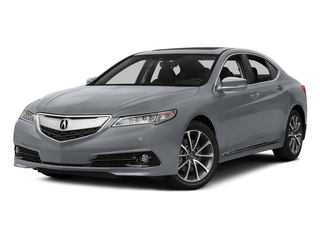 Slate Silver Metallic 2015 Acura TLX Pictures TLX Sedan 4D Advance V6 photos front view