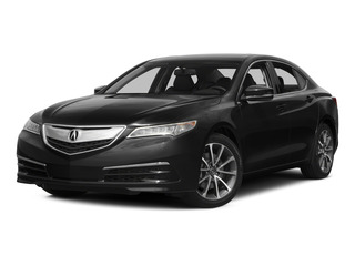 Crystal Black Pearl 2015 Acura TLX Pictures TLX Sedan 4D V6 photos front view