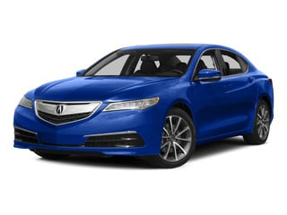 Fathom Blue Pearl 2015 Acura TLX Pictures TLX Sedan 4D V6 photos front view