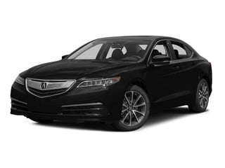 Crystal Black Pearl 2015 Acura TLX Pictures TLX Sedan 4D Technology V6 photos front view