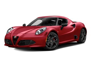 Rosso Alfa 2015 Alfa Romeo 4C Pictures 4C Coupe 2D I4 Turbo photos front view