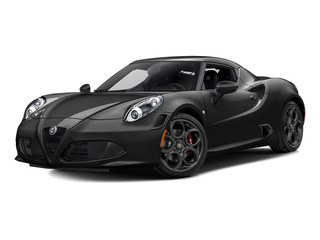Black 2015 Alfa Romeo 4C Pictures 4C Coupe 2D I4 Turbo photos front view