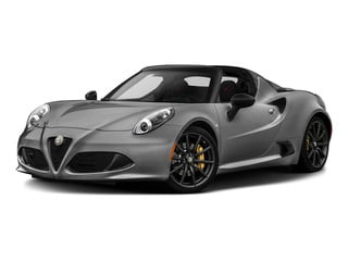 Basalt Gray Metallic 2015 Alfa Romeo 4C Pictures 4C Convertible 2D Spyder I4 Turbo photos front view