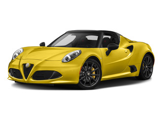 Giallo Prototipo 2015 Alfa Romeo 4C Pictures 4C Convertible 2D Spyder I4 Turbo photos front view