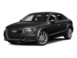 Mythos Black Metallic 2015 Audi A3 Pictures A3 Sed 4D TDI Premium Plus 2WD I4 Turbo photos front view