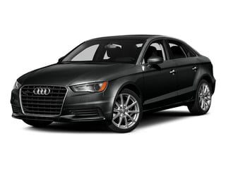 Mythos Black Metallic 2015 Audi A3 Pictures A3 Sedan 4D TDI Prestige 2WD I4 Turbo photos front view