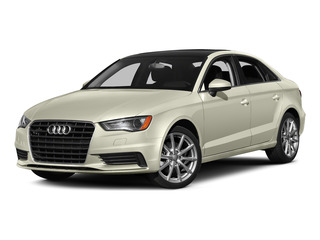 Glacier White Metallic 2015 Audi A3 Pictures A3 Sed 4D TDI Premium Plus 2WD I4 Turbo photos front view