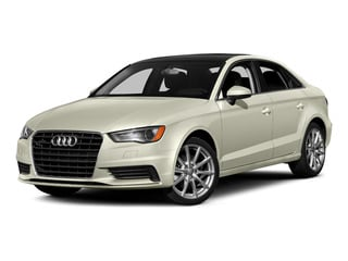 Glacier White Metallic 2015 Audi A3 Pictures A3 Sedan 4D TDI Prestige 2WD I4 Turbo photos front view