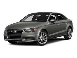 Lotus Gray Metallic 2015 Audi A3 Pictures A3 Sedan 4D 1.8T Premium I4 Turbo photos front view