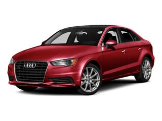 Brilliant Red 2015 Audi A3 Pictures A3 Sedan 4D TDI Prestige 2WD I4 Turbo photos front view