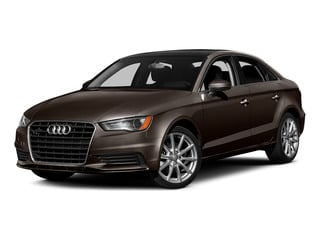 Beluga Brown Metallic 2015 Audi A3 Pictures A3 Sedan 4D 1.8T Premium I4 Turbo photos front view