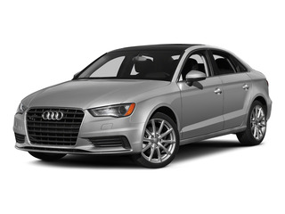 Ice Silver Metallic 2015 Audi A3 Pictures A3 Sedan 4D 1.8T Premium I4 Turbo photos front view