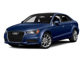 Scuba Blue Metallic 2015 Audi A3 Pictures A3 Sedan 4D 1.8T Premium I4 Turbo photos front view