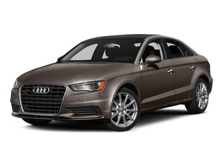Dakota Gray Metallic 2015 Audi A3 Pictures A3 Sedan 4D 1.8T Premium I4 Turbo photos front view